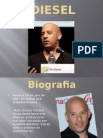 VIN DIESEL Power Point