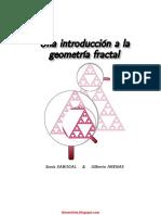 Una Introduccion a La Geometria Fractal Sonia Sabogal y Gilberto Arenas