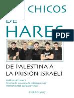 Los chicos de Hares. De Palestina a la prisión israelí - Equipo de la Campaña por los Chicos de Hares