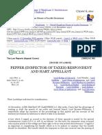 Pepper (Inspector of Taxes) v Hart [1992] UKHL 3 (26 November 1992)
