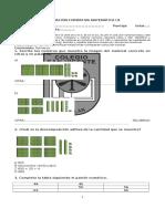 Evaluación Formativa Matemática U1