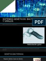 Sistemas Genéticos Bacterianos y Virales