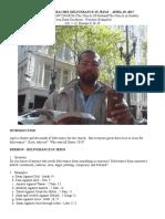 duclairon preaches deliverance in jesus doc - april 29 2017