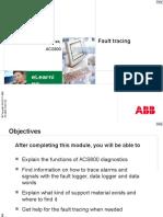ACS800 Fault Tracing