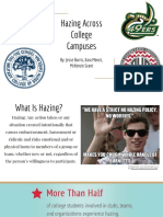 hazing across college campuses