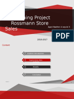 rossman store sales predictions