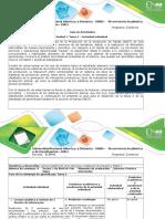 Guía de Actividades Unidad 1 Tarea 2 – Actividad Individual (1)