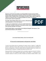 El Viacrucis de un Indocumentado en Busqueda del Asilo Político por Martin Mendez Pineda