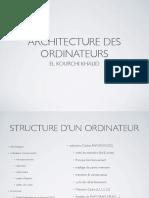 1. Architecture Des Ordinateurs.pdf