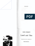 Carl Schmitt - Land and Sea