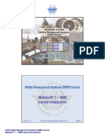 ICAO SMS Module N° 1 – SMS course introduction 2008-11 (E)