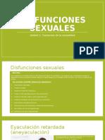 PSICO II_ UNIDAD 1_Disfunciones Sexuales, Identidad Sexual