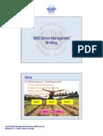 ICAO SMS Senior Management Briefing - Dr. O. Aliu
