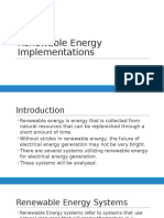 Renewable Energy Powerpoint