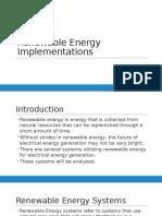 Renewable Energy Powerpoint