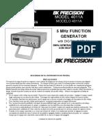 4011a Manual Generador