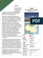 Shanghái - Wikipedia, La Enciclopedia Libre