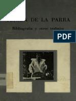 Teresa de La Parra Bibliografia y Otros Ensayos