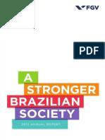 A Stronger Brazilian Society 2012 Report