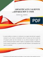 Mezcla Asfáltica en Caliente
