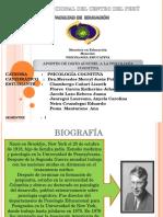 APORTES DE DAVID AUSUBEL A LA PSICOLOGÍA COGNITIVA