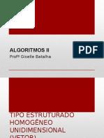 AlgoritmosII-VETOR