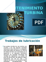 Mantenimiento de La Turbina