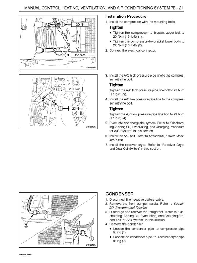 Daewoo Matiz 2000-2013 Heating, Ventilation and Air