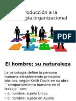 Introducción a La Psicología Organizacional,Diapositiva