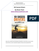 101 Success Drivers