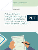 Lampiran III - Petunjuk Teknis Pengisian Blangko Ijazah Tahun 2017