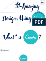 Create Amazing Designs Using Canva