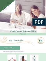 Catálogo de Premios DN 3 Trimestre2016