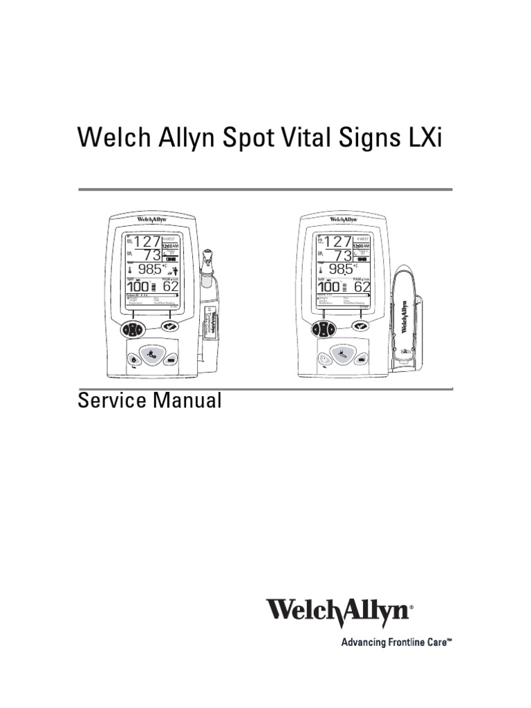 Vital signs monitor 300 series.
