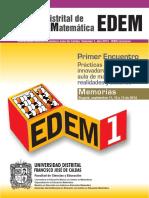 Encuentro Distrital de Educacion Matematicas Bogota