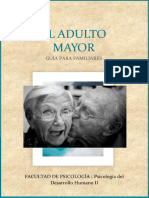 Adulto Mayor Trabajo Terminado