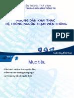 Huong Dan Khai Thac He Thong Nguon Tram Bts