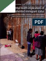 mental health implications of undocumented immigrats status