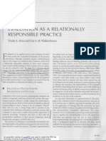 Abma y Widdershoven (2011) Evaluation as a relationally responsible practice.pdf