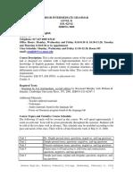 17 Hight Intermediate Grammar Object 3 Pages