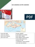 Lambang Negara Singapura Dan Peta Singapura