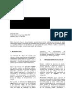 SERVSAL Sistemas de Servicios de Salud Nociones Basicas RDG