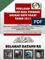 Slide Anugerah Desa Perdana JKKK 4S