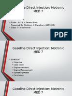 MED Motronic Case Study