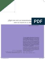 ¿Qué son las humanidades y cuál ha sido su valor en la universidad- .pdf