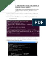 Nmap. Suite de herramientas de descubrimiento de redes de código abierto.