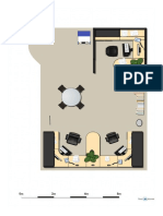 Oficina recreada a través de software online.