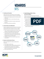 iste standards - students