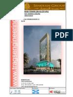 Monthly Progress Report - Sendian Tower-Part 1 of 2