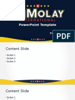 DeMolay PPT Template